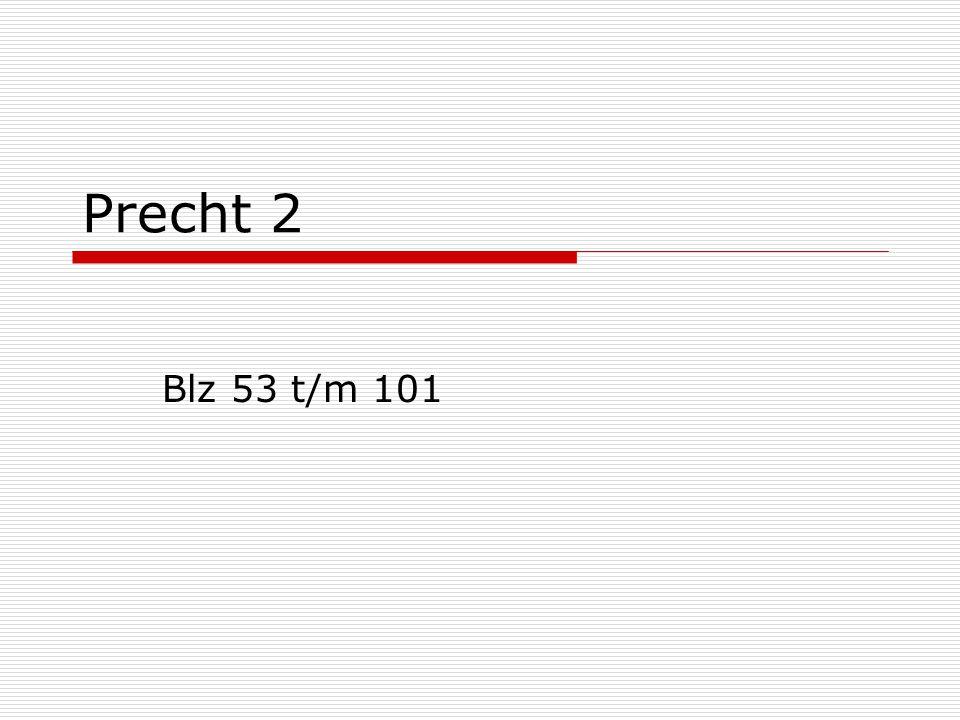Precht 2 Blz 53 t/m 101