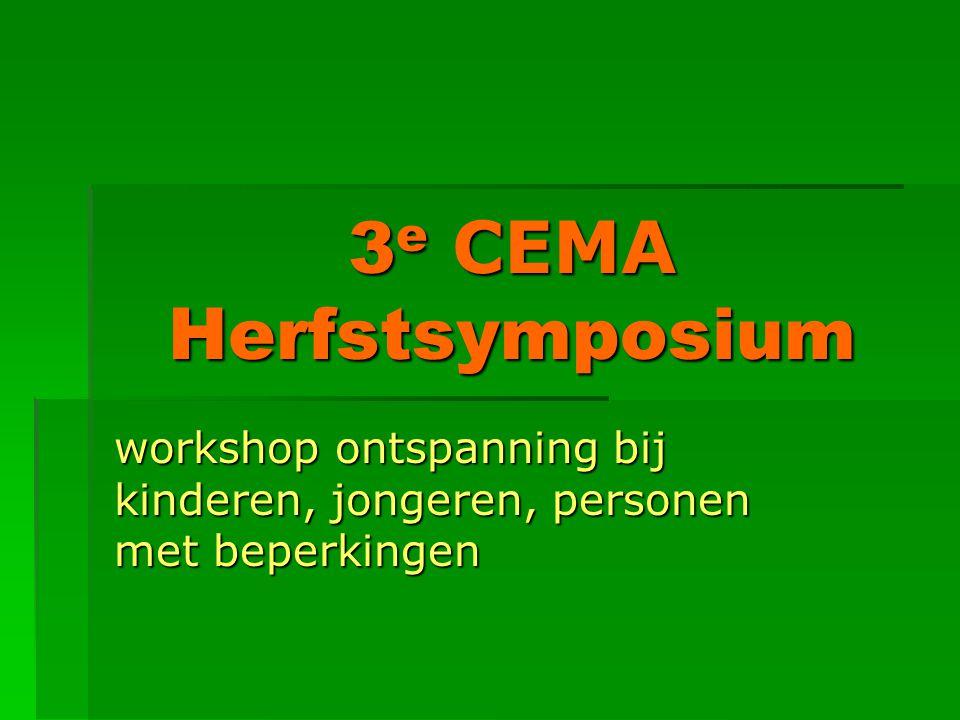 3e CEMA Herfstsymposium