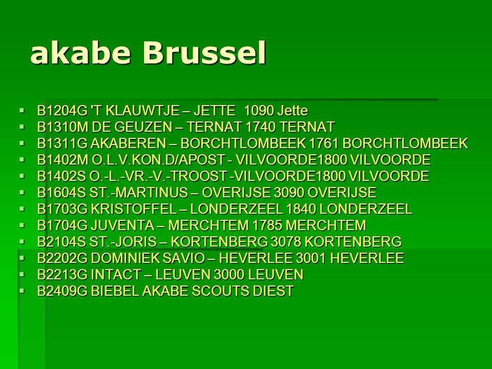 akabe Brussel B1204G T KLAUWTJE – JETTE 1090 Jette
