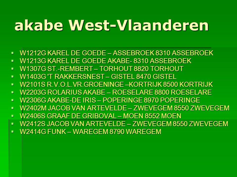 akabe West-Vlaanderen