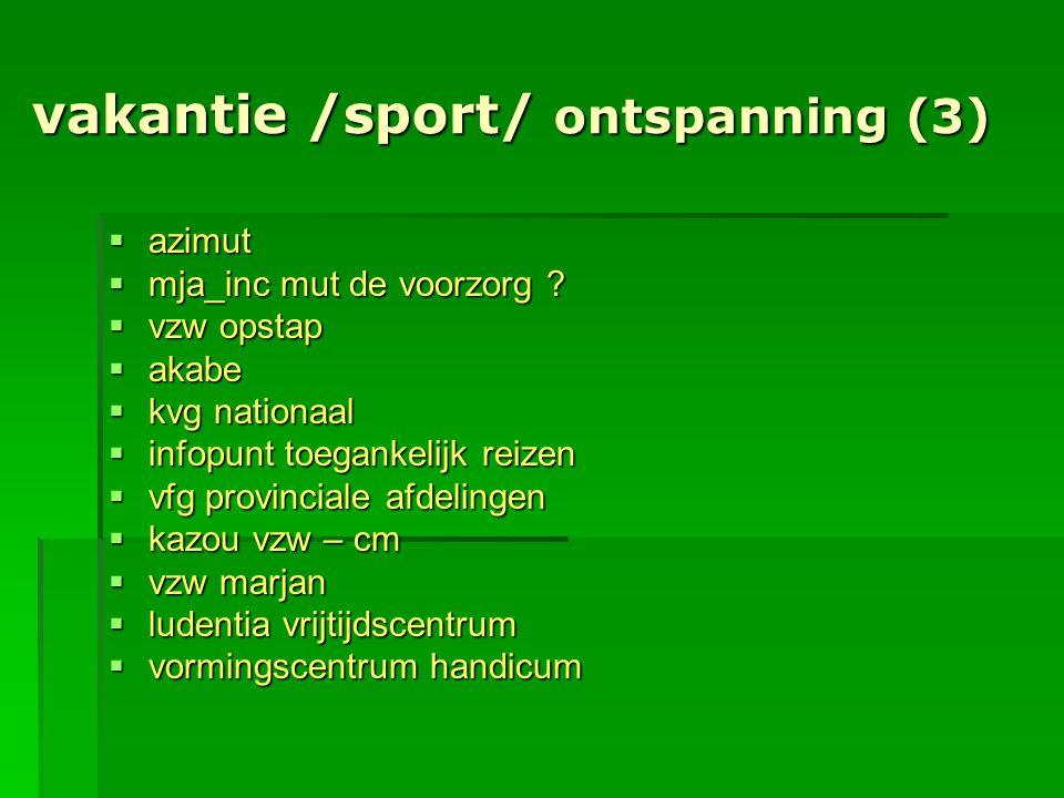 vakantie /sport/ ontspanning (3)