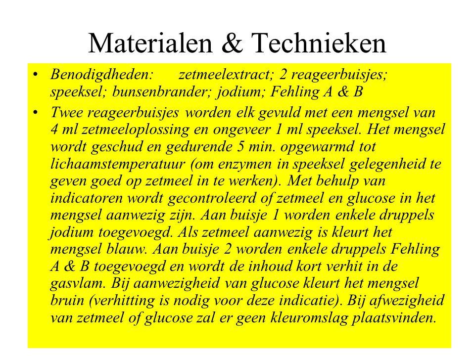 Materialen & Technieken