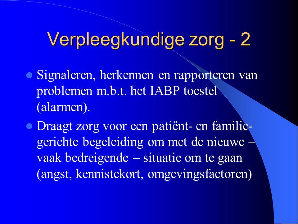 Verpleegkundige zorg - 2
