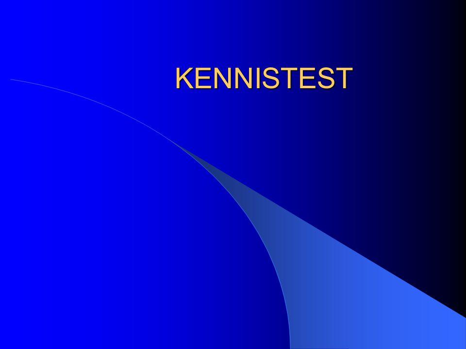 KENNISTEST