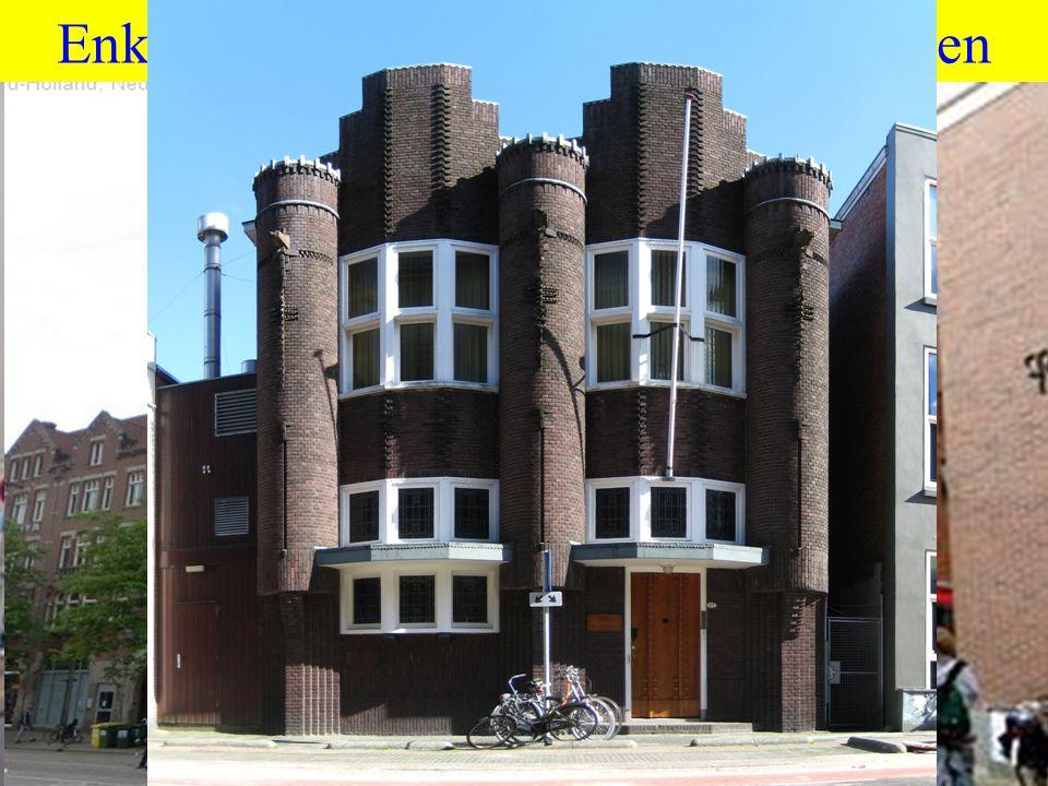 Enkele succesvolle moderne clubhuizen