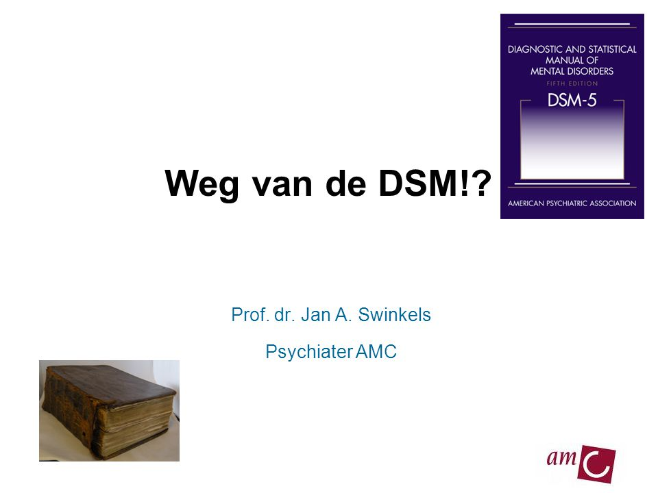 Prof. dr. Jan A. Swinkels Psychiater AMC