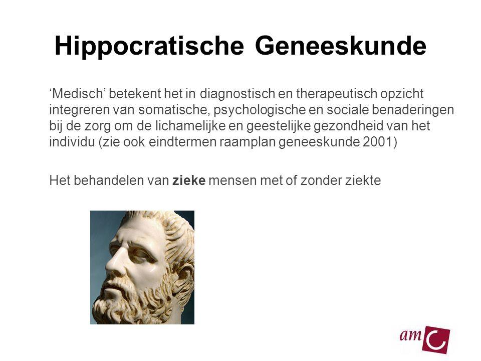 Hippocratische Geneeskunde