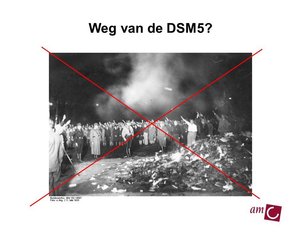 Weg van de DSM5