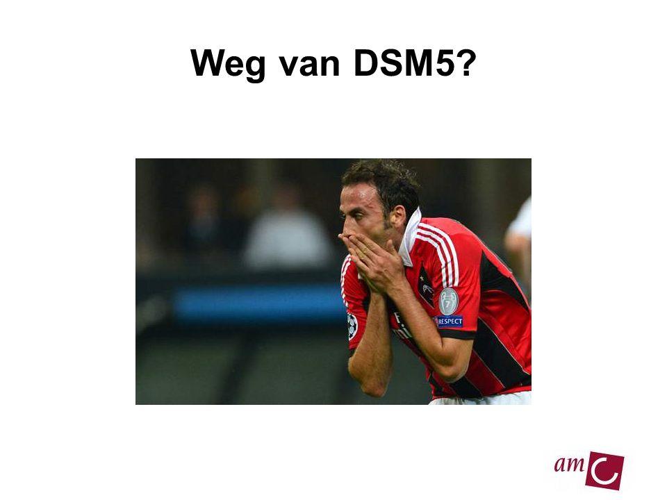 13/06/2007 Weg van DSM5