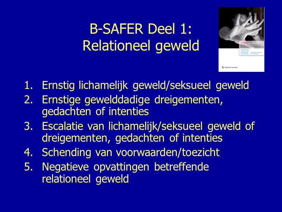 B-SAFER Deel 1: Relationeel geweld