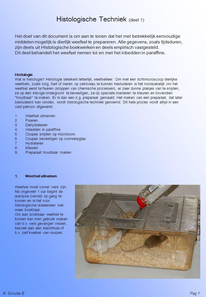 Histologische Techniek (deel 1)
