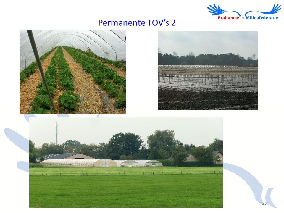 Permanente TOV's 2 23