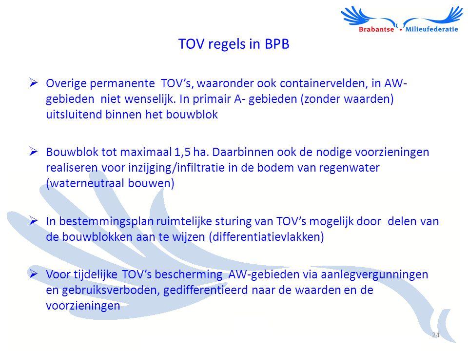 TOV regels in BPB