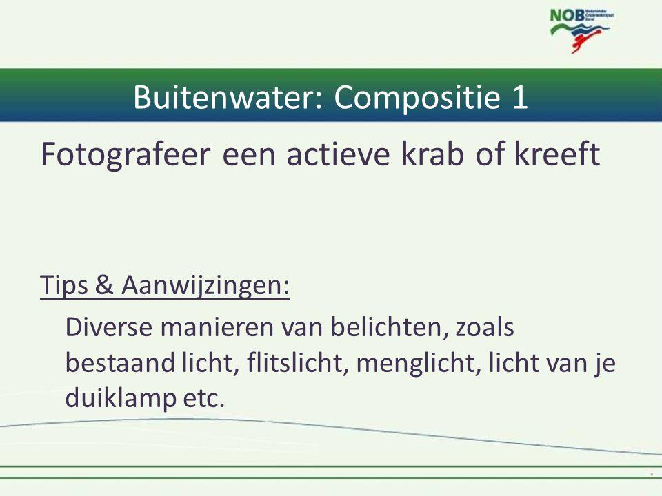 Buitenwater: Compositie 1