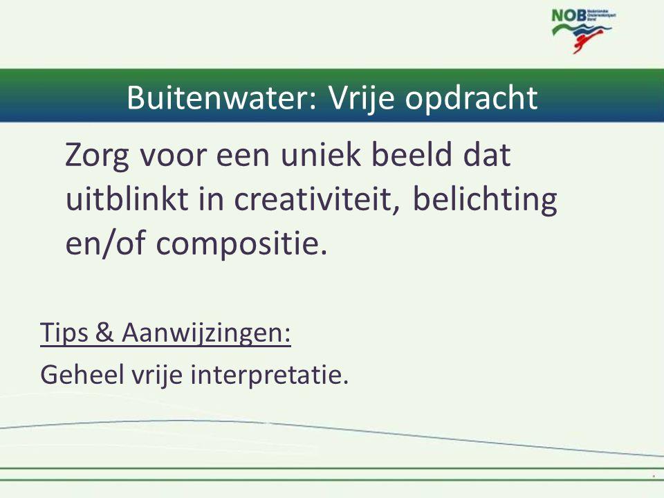 Buitenwater: Vrije opdracht