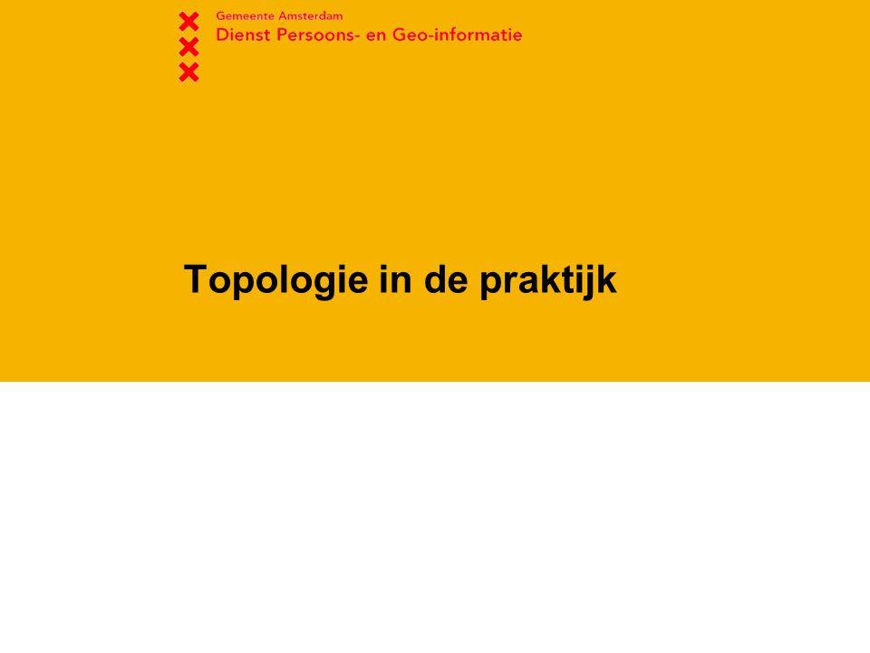Topologie in de praktijk