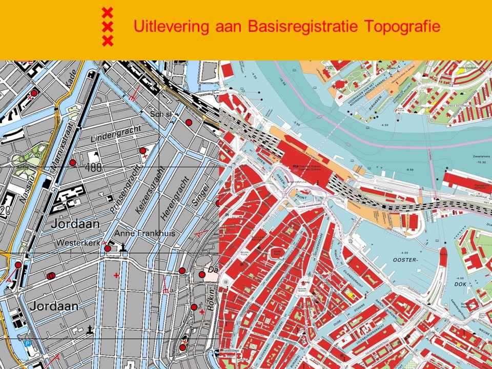 Uitlevering aan Basisregistratie Topografie