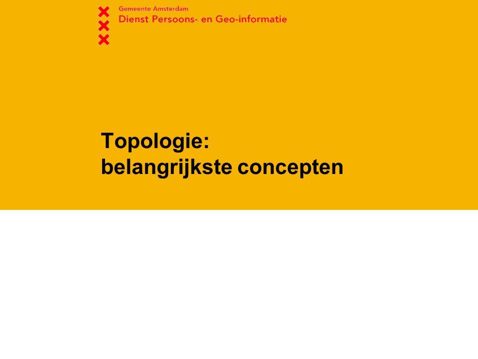 Topologie: belangrijkste concepten