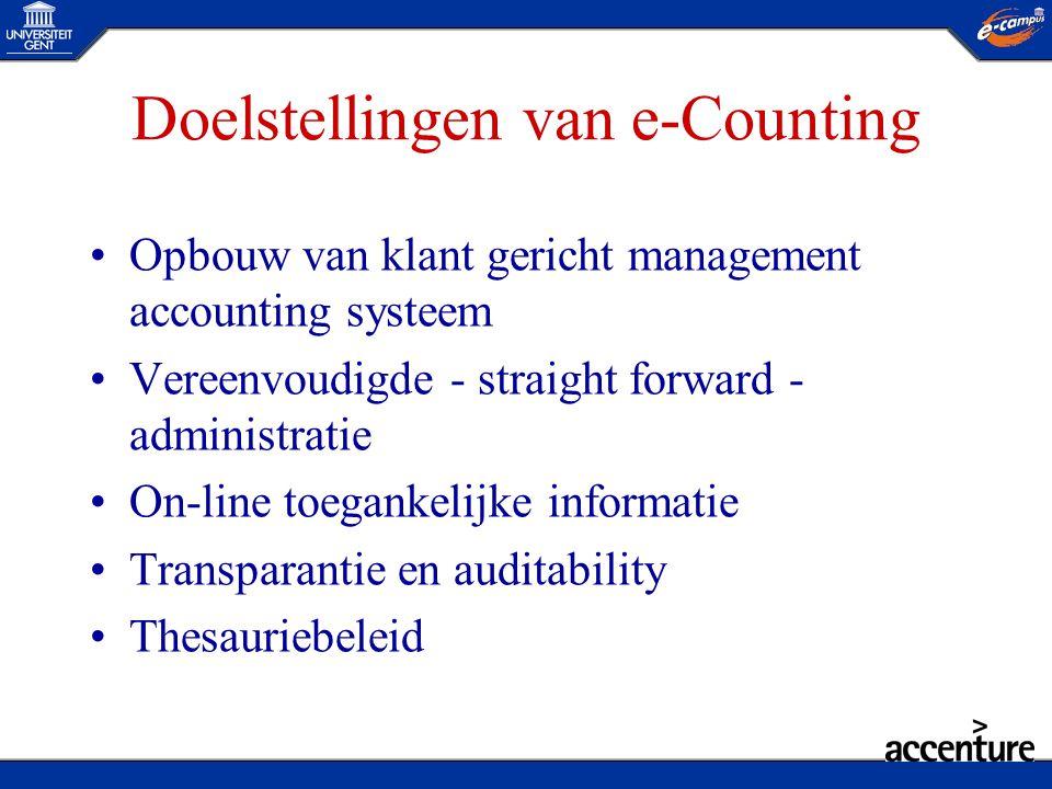 Doelstellingen van e-Counting