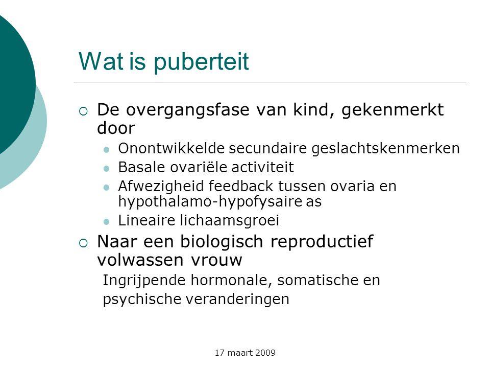 Wat is puberteit De overgangsfase van kind, gekenmerkt door