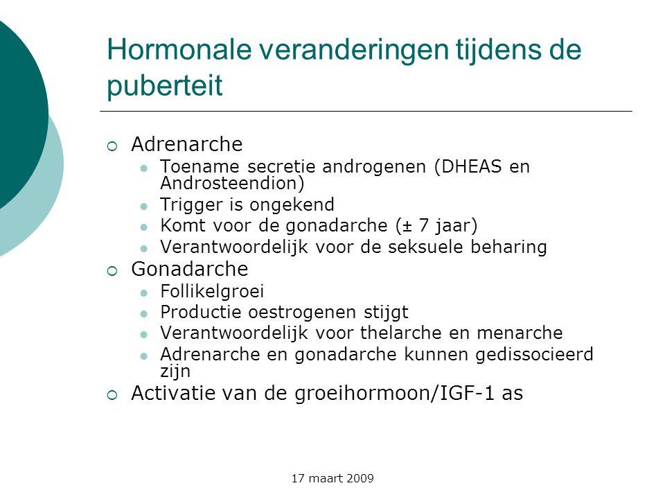 Hormonale veranderingen tijdens de puberteit