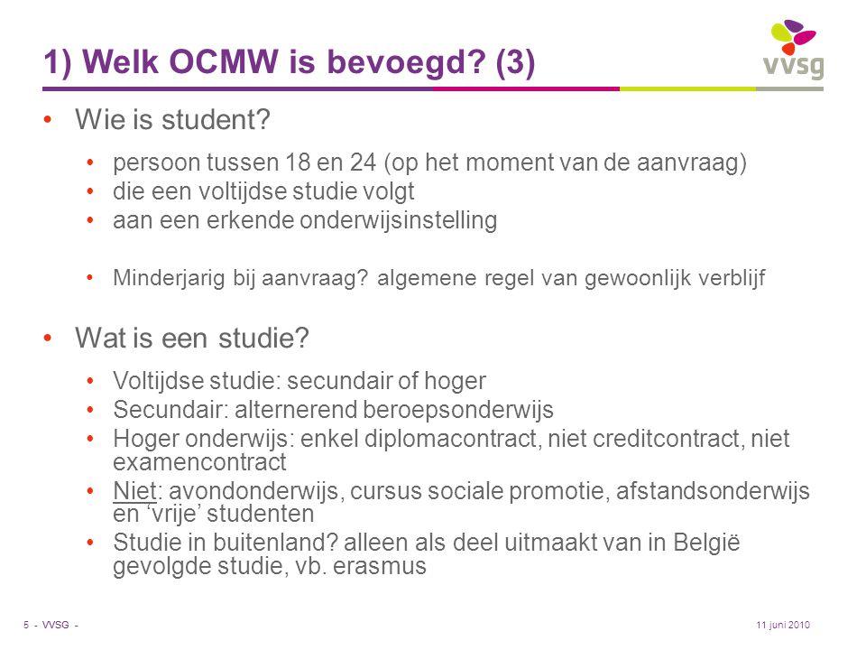 1) Welk OCMW is bevoegd (3)