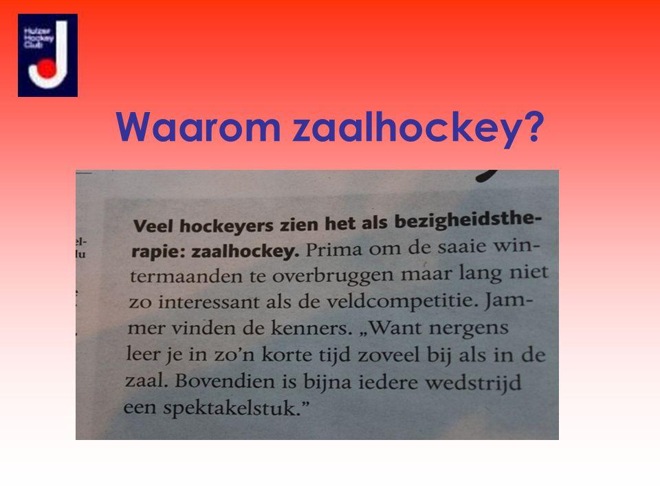 Waarom zaalhockey