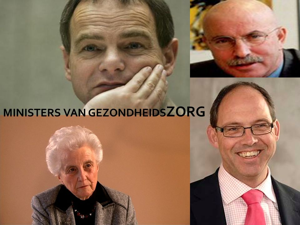 MINISTERS VAN GEZONDHEIDSZORG