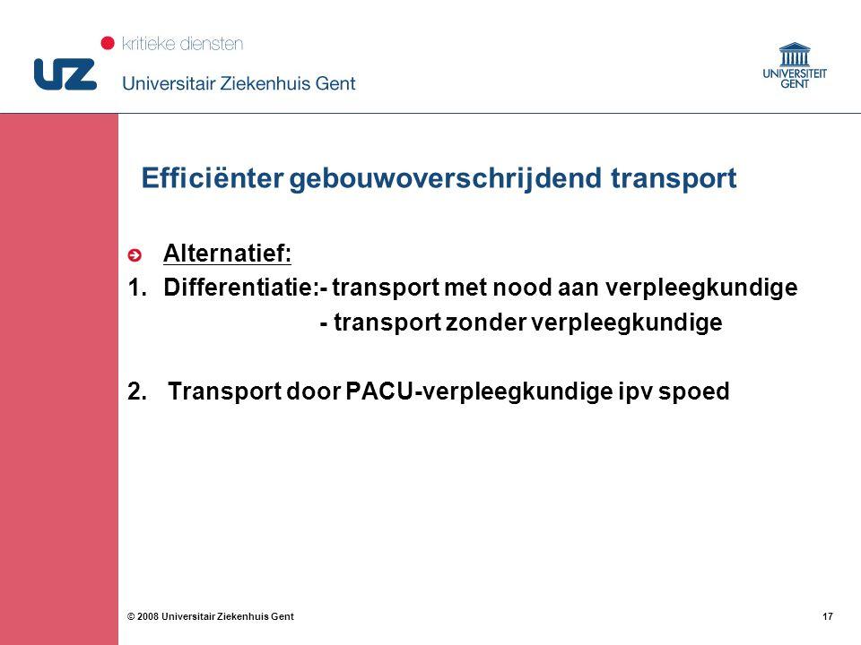 Efficiënter gebouwoverschrijdend transport
