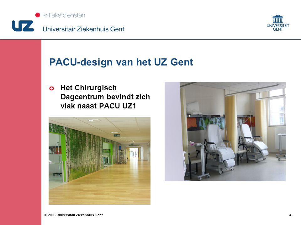 PACU-design van het UZ Gent
