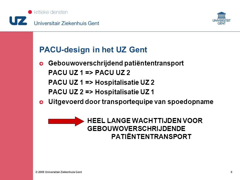 PACU-design in het UZ Gent