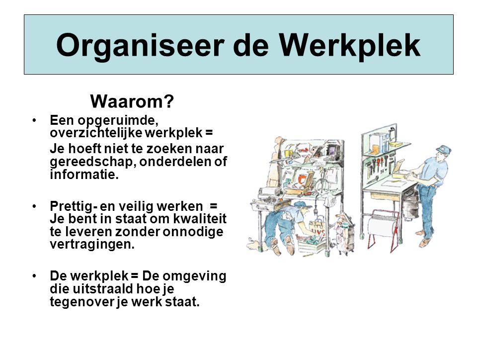 Organiseer de Werkplek