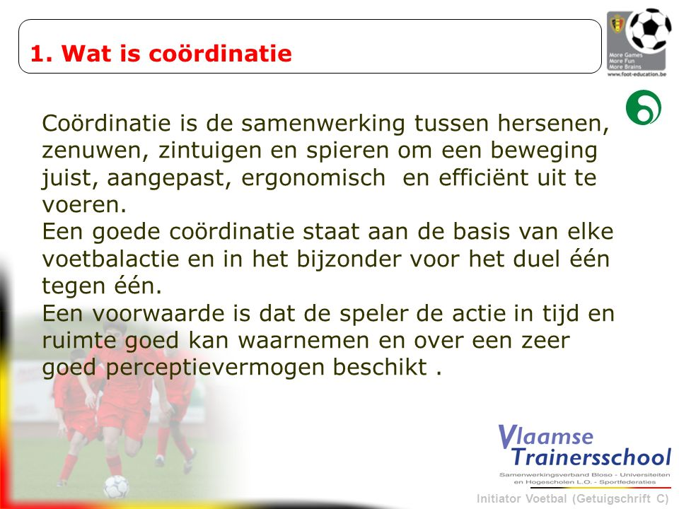 1. Wat is coördinatie
