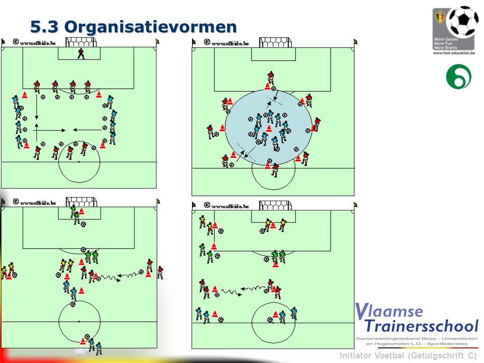 5.3 Organisatievormen
