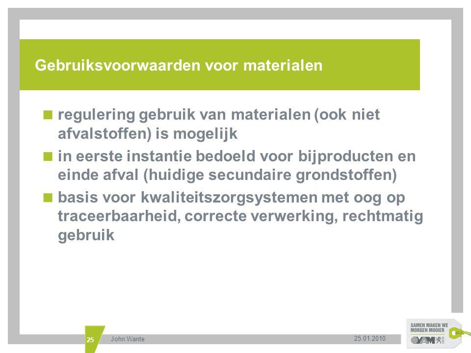 Gebruiksvoorwaarden voor materialen