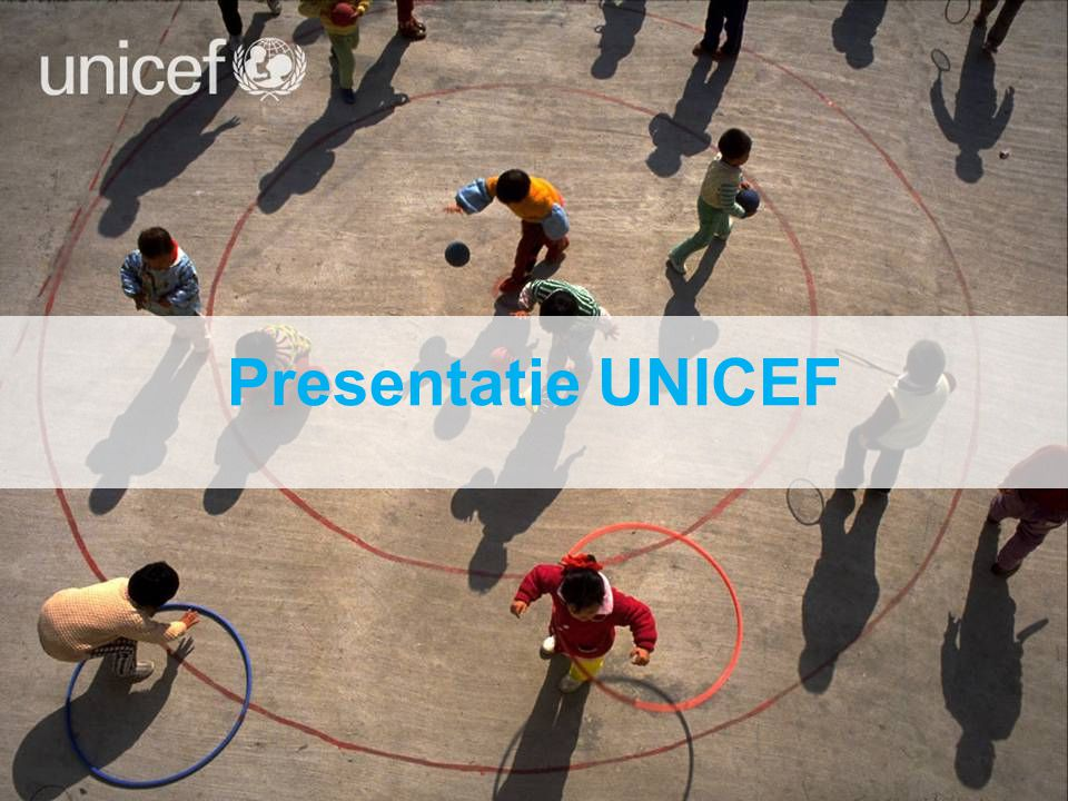 Presentatie UNICEF