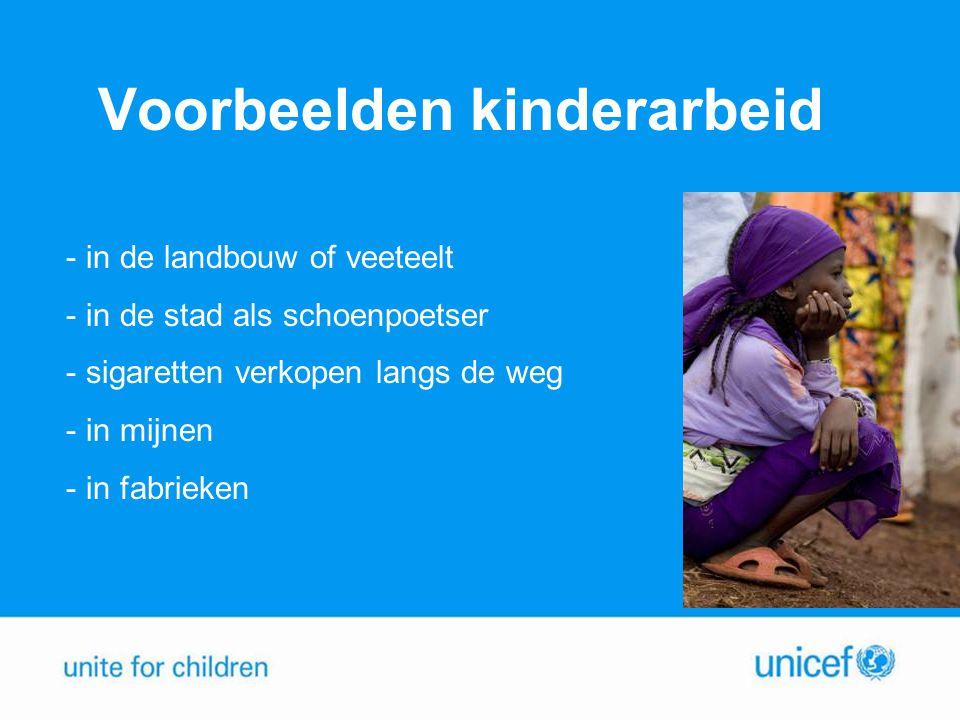 Voorbeelden kinderarbeid