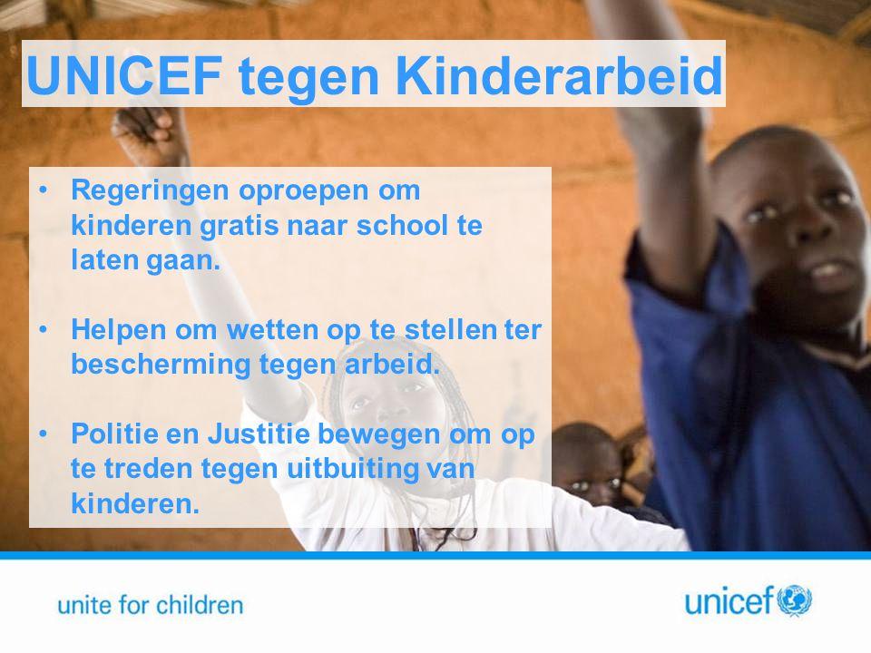 UNICEF tegen Kinderarbeid