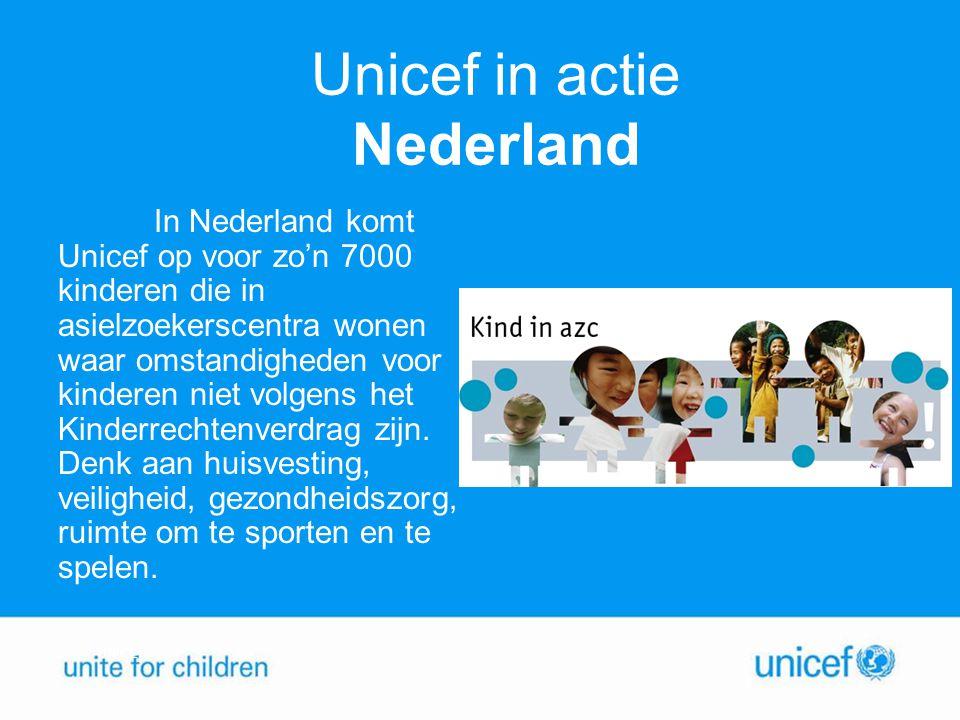 Unicef in actie Nederland