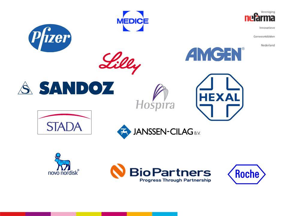 Interessant is, dat wij zullen moeten wennen aan een aantal namen van nieuwe belangrijke spelers in het veld. De namen van de oorspronkelijke innovatoren op het gebied van biotechnologische geneesmiddelen kent iedereen, de namen van de spelers, wel, daar zullen we nog aan moeten wennen. De markt wordt gecompliceerder.