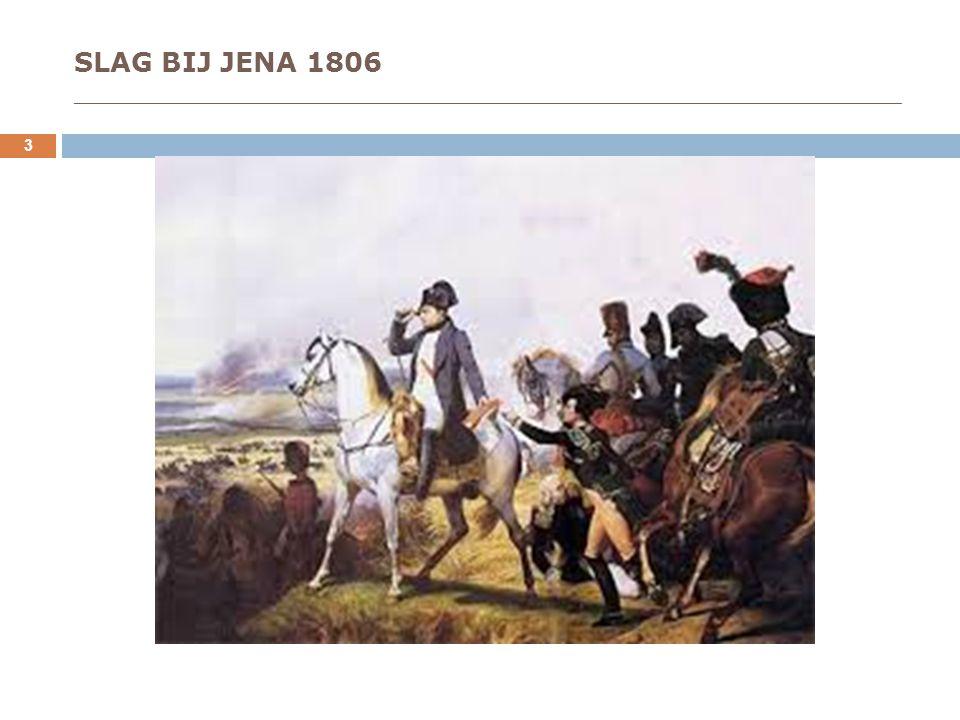 SLAG BIJ JENA 1806 _____________________________________________________________________