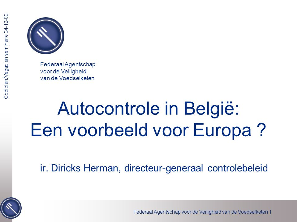 Autocontrole in België: Een voorbeeld voor Europa