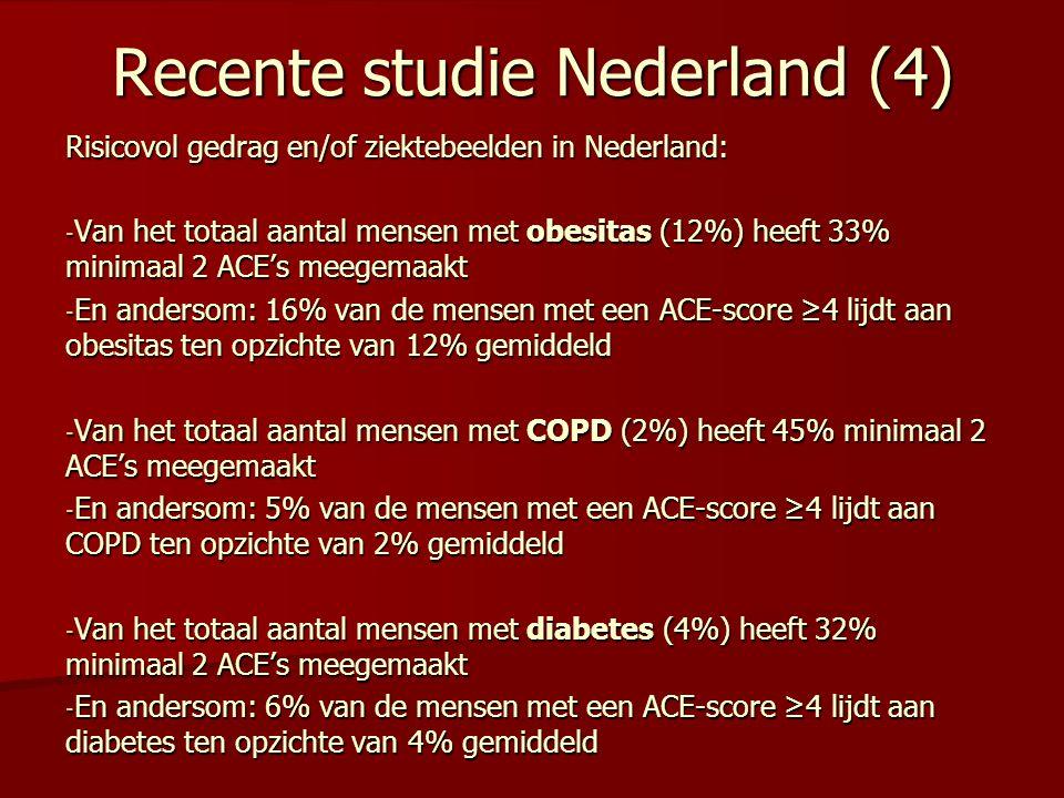 Recente studie Nederland (4)