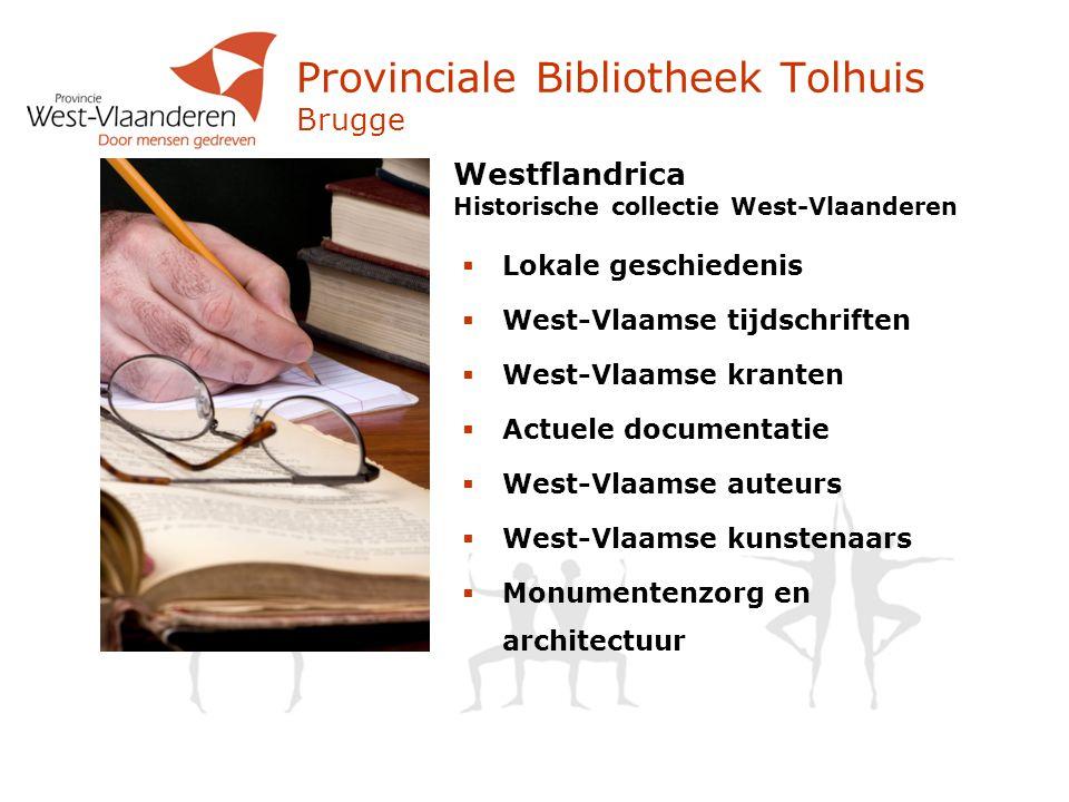 Provinciale Bibliotheek Tolhuis Brugge