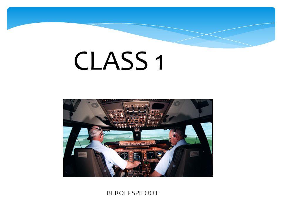 CLASS 1 BEROEPSPILOOT