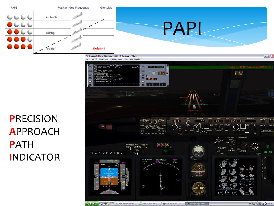 PAPI PRECISION APPROACH PATH INDICATOR