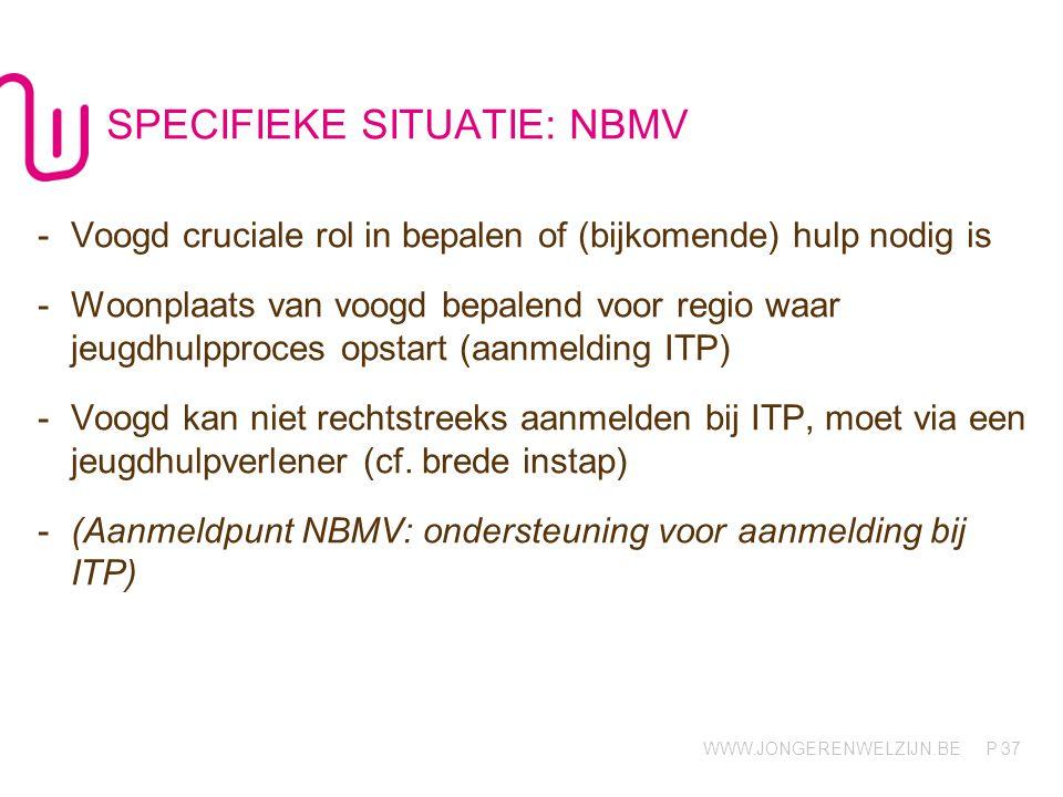 SPECIFIEKE SITUATIE: NBMV