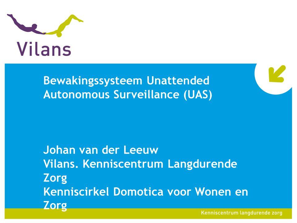 Bewakingssysteem Unattended Autonomous Surveillance (UAS)