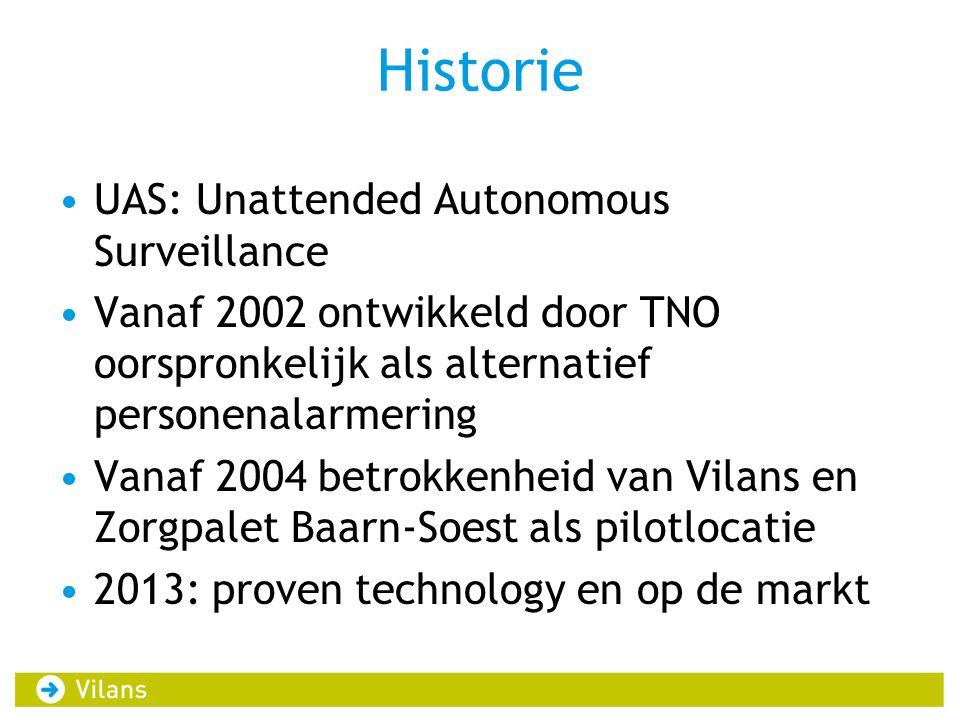 Historie UAS: Unattended Autonomous Surveillance