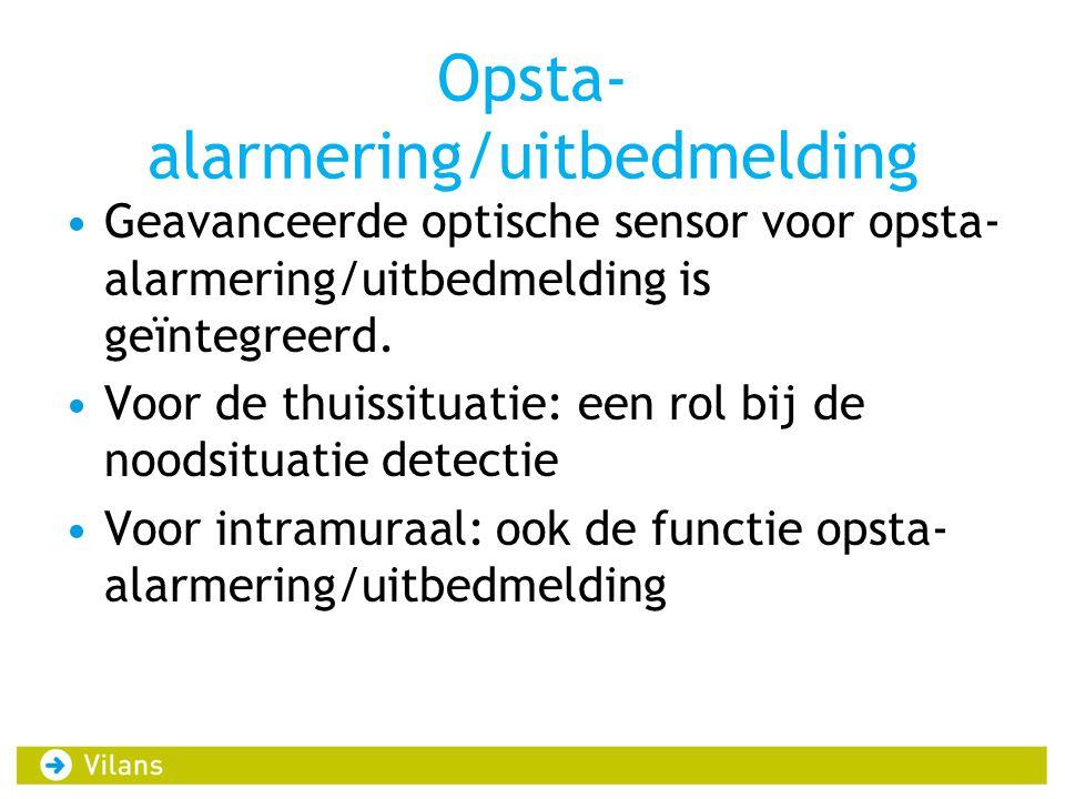 Opsta-alarmering/uitbedmelding